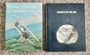 Aviation books on the First World War.