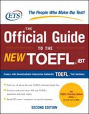 the official guide of the new toefl ibt 2nd Edition